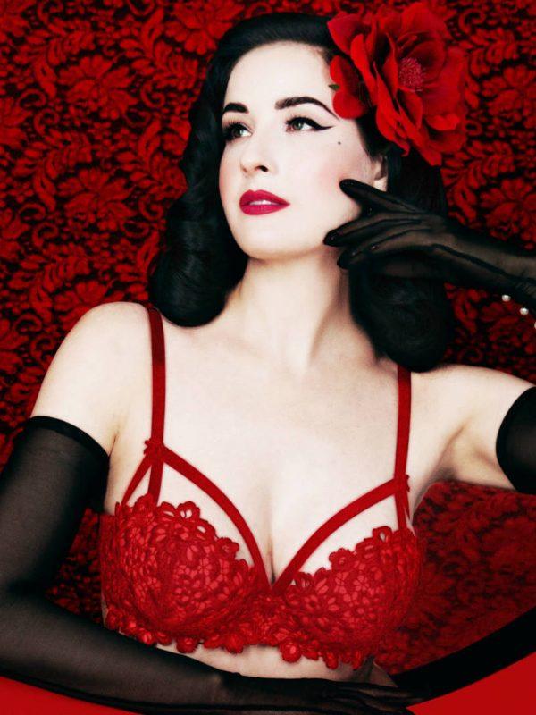 Dahlia Lipstick Red