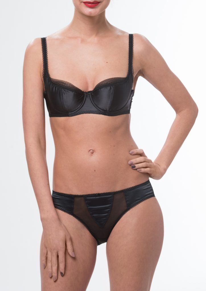 Sheer Witchery Satin Black