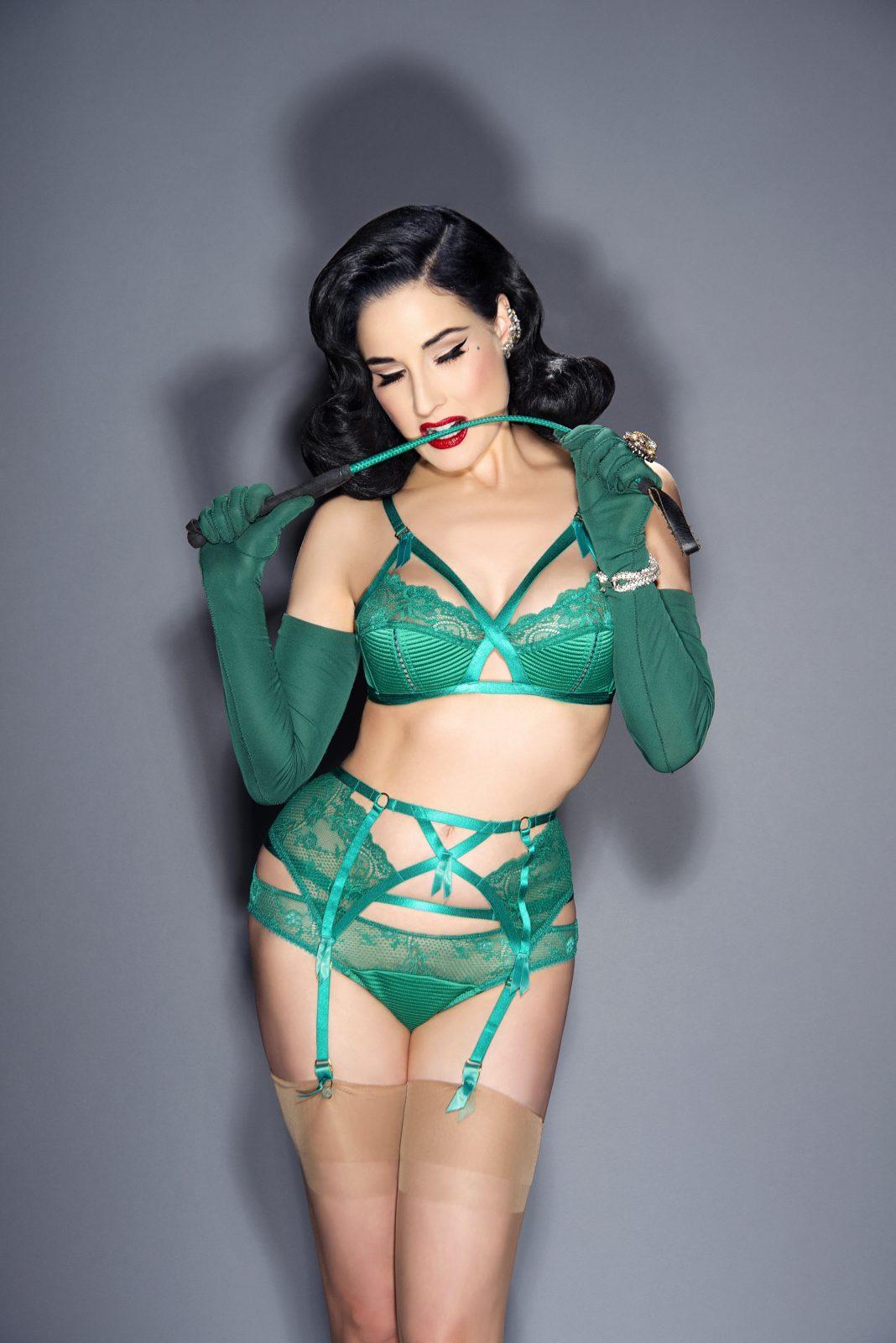 Madam X Emerald Green