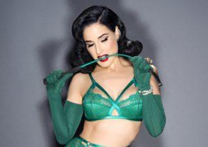 DitaVonTeese MadamX Emerald Green