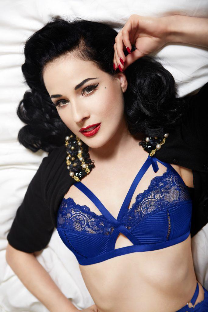 Madam X Electric Blue