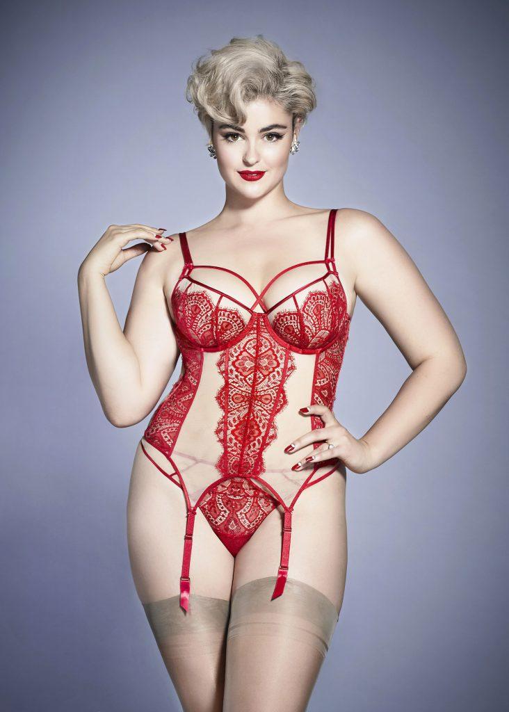 Maestra - Dita Red & Nude