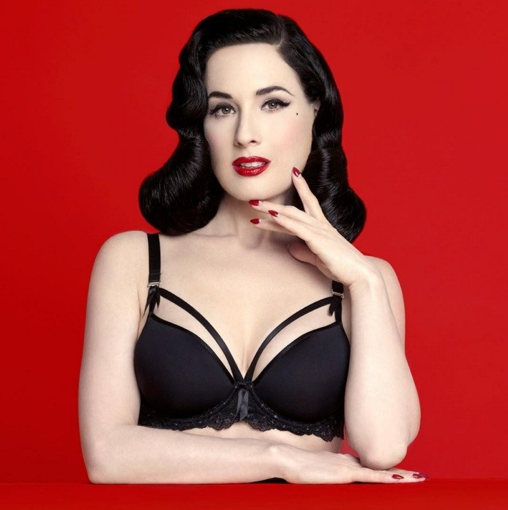 Dita von Teese MadamX Spacer black